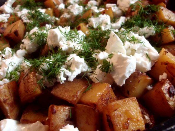 Harissakartoffeln