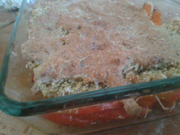 Quinoa-Kürbis-Gratin 1
